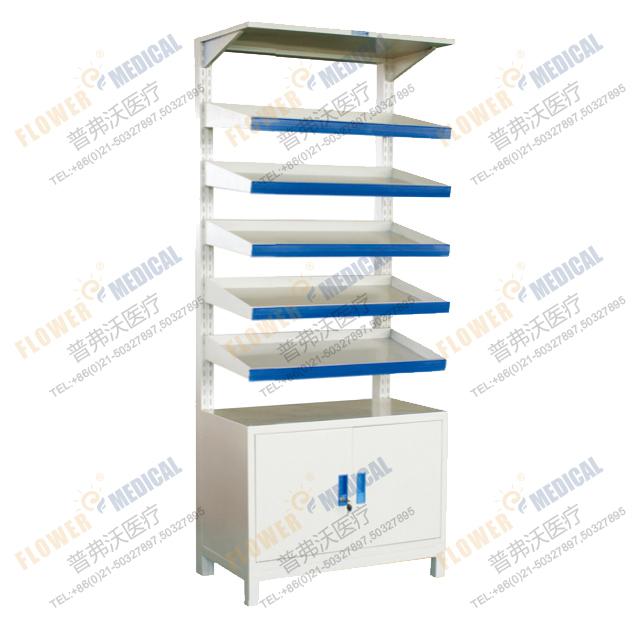 FG-18-2 Sirgle-side storeroom medicine shelf